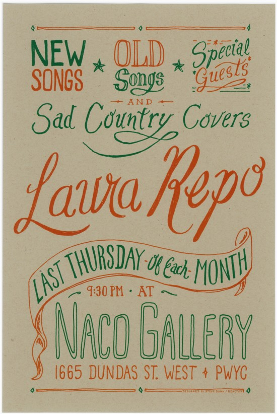 Laura Repo Naco Poster