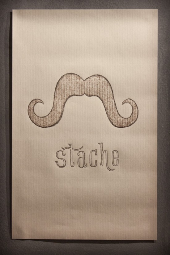 Steve Dunk Stache Poster
