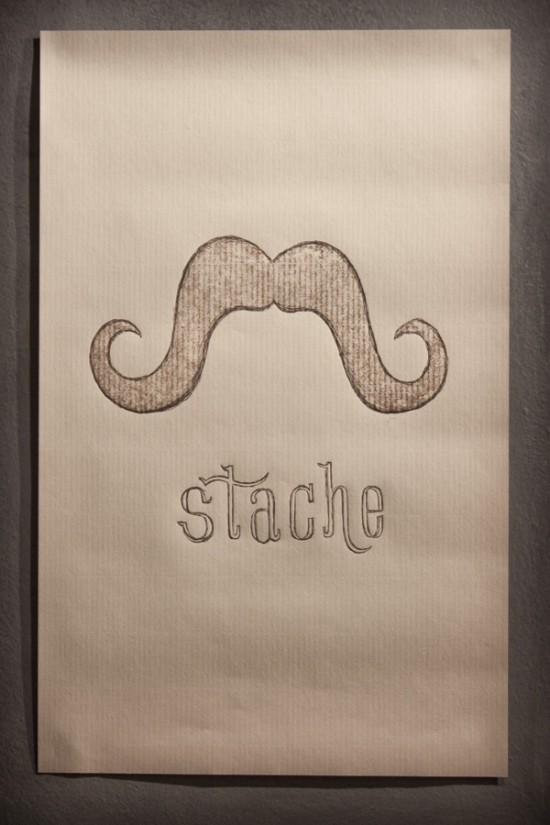 Steve Dunk Stache Poster